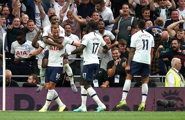 Tottenham beat Villa in their first game of the season
