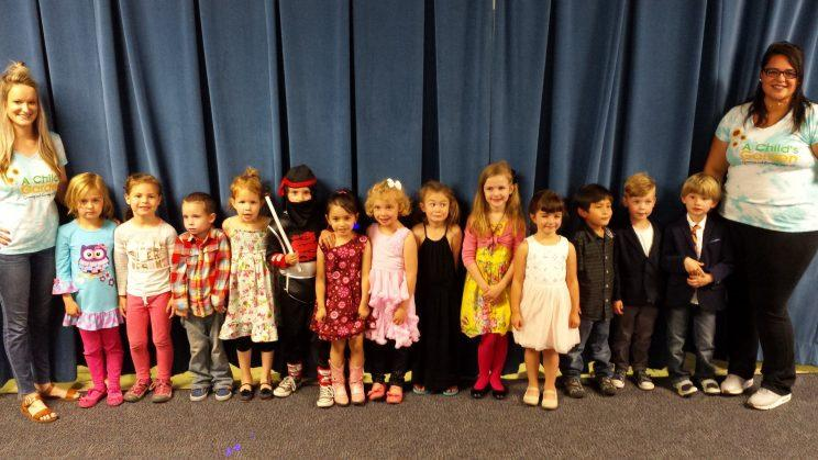 Max stands out in his costume amongst other classmates. (Photo: Jen Martinez)