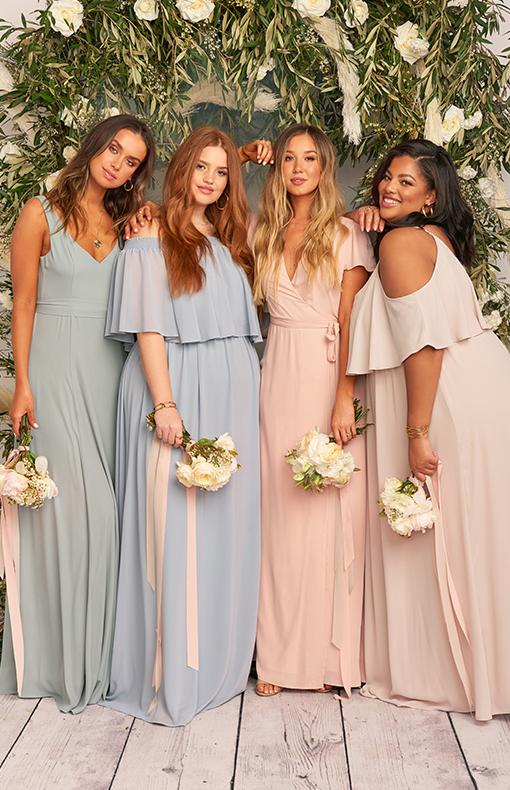 These Wrinkle-Free, Plus-Size Bridesmaid Dresses Are ...