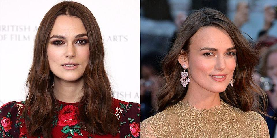 <p>Keira Knightley has officially mastered her stoic stare on the red carpet. The actress has made it her go-to pose since her early days in the industry. </p>