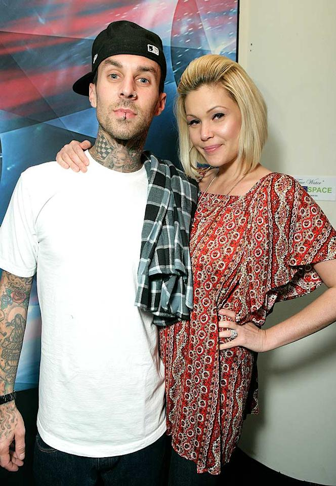"Travis Barker and Shanna Moakler filed for divorce in August 2006, but have reconciled so many times since then that we can't keep track. Although they obviously love one another, this couple just can't seem to make it work. Todd Williamson/<a href=""http://www.wireimage.com"" target=""new"">WireImage.com</a> - October 24, 2007"