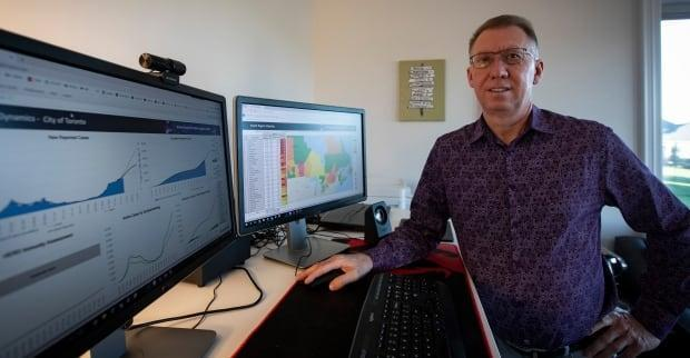 Paul Minshull is founder of Scarsin Corporation, an enterprise forecasting firm in Ontario that has turned its detailed modelling software to the task of predicting where COVID-19 will go next.