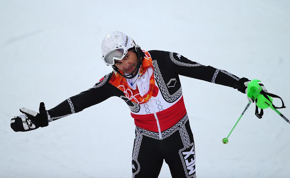 Hubertus von Hohenlohe at the 2014 Sochi Games.(Getty Images)