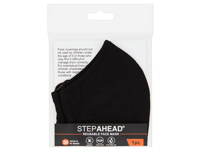 While currently unavailable online, keep your eyes peeled for this reusable mask in-store Iceland)Iceland