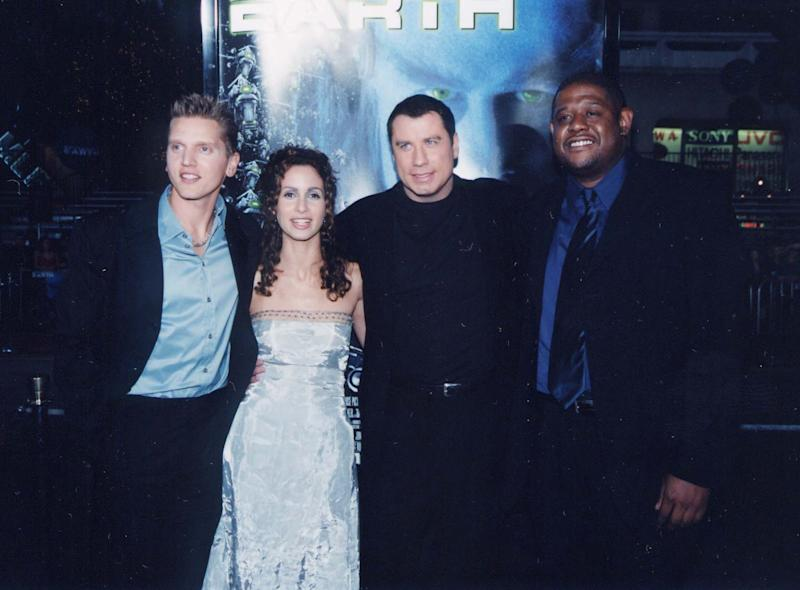 Barry Pepper, Kim Coates, John Travolta & Forest Whitaker (Photo by Jeff Kravitz/FilmMagic, Inc)