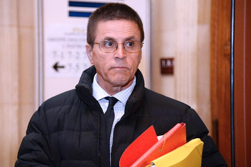 Lebanese-Canadian academic Hassan Diab, accused over the deadly 1980 bombing of a Paris synagogue, is to be freed after French magistrates dismissed the case (AFP Photo/BERTRAND GUAY)