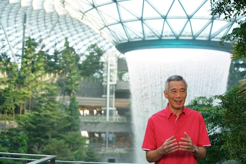 PM Lee Hsien Loong. (Photo: MCI)