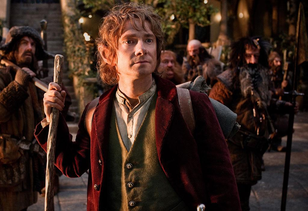 "Martin Freeman in New Line Cinema's ""The Hobbit: An Unexpected Journey"" - 2012"