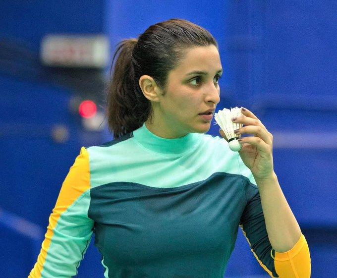 """The sports drama has been long in the making. Shraddha Kapoor who was initially cast foir the role of Saina, opted out due to scheduling issues. However, reports had also suggested that the film was getting delayed due to Kapoor's struggles with learning badminton. The film will now see Parineeti Chopra portray Saina Nehwal, with Manav Kaul playing the role of her coach Pullela Gopichand. Directed by Amole Gupte, Saina is slated to release early 2020. <em><strong>Image credit: </strong></em><a href=""""https://twitter.com/NSaina/status/1181079917531787267?ref_src=twsrc%5Etfw%7Ctwcamp%5Etweetembed%7Ctwterm%5E1181079917531787267&ref_url=https%3A%2F%2Fwww.indiatoday.in%2Fmovies%2Fcelebrities%2Fstory%2Flooking-forward-to-this-journey-together-saina-nehwal-wishes-parineeti-chopra-all-the-best-for-biopic-1606844-2019-10-07"""" rel=""""nofollow noopener"""" target=""""_blank"""" data-ylk=""""slk:Twitter/Saina Nehwal"""" class=""""link rapid-noclick-resp""""><em><strong>Twitter/Saina Nehwal</strong></em></a>"""