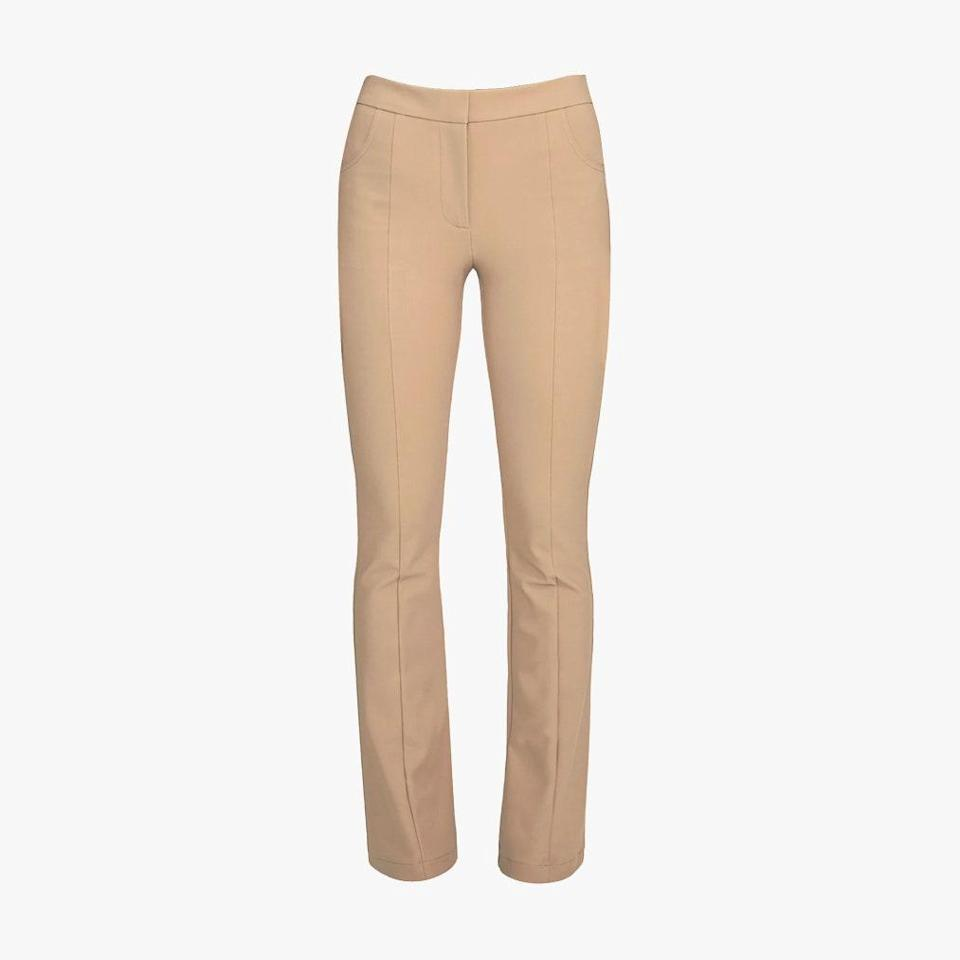 """Paire's comfort-first trousers are the ideal pant to get you out of a loungewear rut. $245, PAIRE. <a href=""""https://www.pairela.com/collections/slimboot/products/jackie-slimboot-30?variant=31100872654950"""" rel=""""nofollow noopener"""" target=""""_blank"""" data-ylk=""""slk:Get it now!"""" class=""""link rapid-noclick-resp"""">Get it now!</a>"""