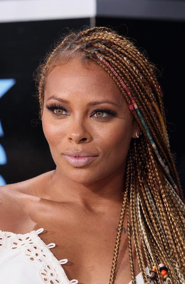 "<p>Box braids just got a fresh new decorated spin thanks to ""Eva the Diva."" (Photo: Getty Images) </p>"