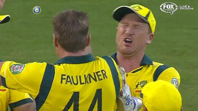 Cricket high five leads to eye injury