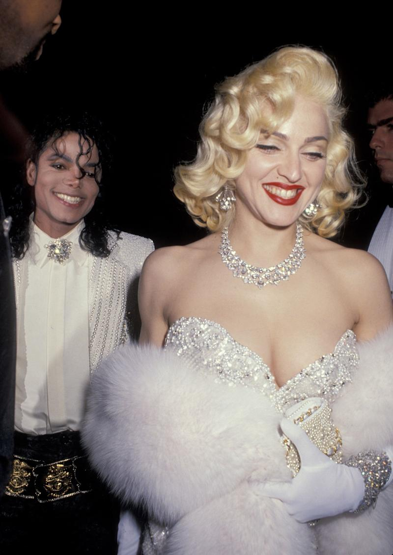 Michael Jackson and Madonna (Photo by Ron Galella/WireImage)