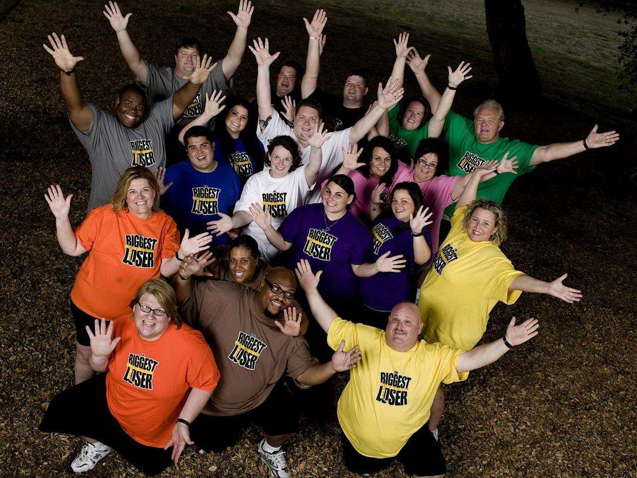"""<a href=""""/the-biggest-loser/show/37103"""">The Biggest Loser</a>, airing on NBC."""