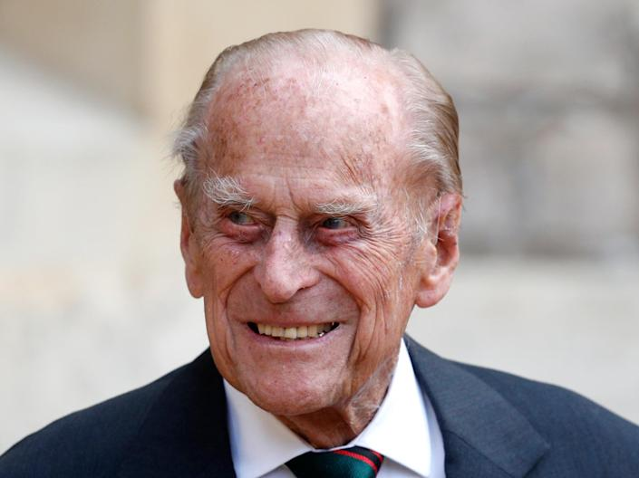 Prince Philip, pictured on 22 July 2020 in Windsor (Getty Images)
