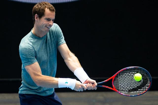 Andy Murray's failure to recover from a long-term hip injury has put his dream to win next week's Australian Open almost beyond reach (AFP Photo/ASANKA BRENDON RATNAYAKE)