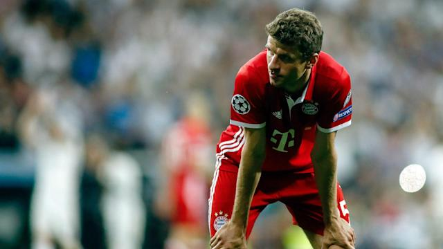 Thomas Muller Real Madrid Bayern Munchen Champions League