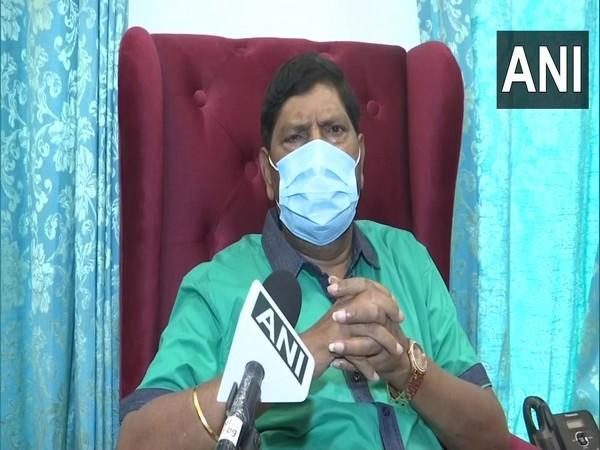 Union Minister Ramdas Athawale speaking to ANI