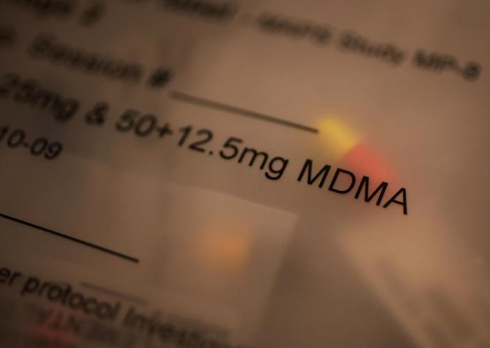 A dose of MDMA. (Photo: Travis Dove/Washington Post via Getty Images)