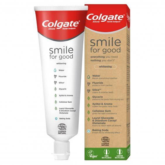 Colgate's Smile for Good toothpaste can be purchased at Waitrose and Boots (Colgate)