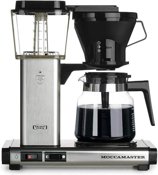 Every Moccamaster coffee brewer comes with a five-year guarantee. (Photo: Amazon)
