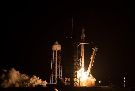 SpaceX Falcon 9 rocket blasts off from Kennedy Space Center early on April 23, 2021, boosting a Crew Dragon capsule carrying four astronauts toward orbit for a day-long flight to the International Space Station. / Credit: NASA