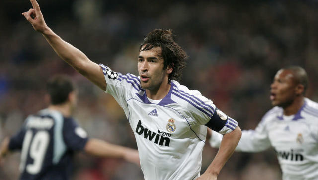 <p><strong>Number of Champions League goals: 71</strong></p> <br><p>For many years the top dog, prior to the arrival of a prolific rival duo, Raul reigned supreme at the Santiago Bernabeu and led from the front by scoring goals for Real Madrid. </p> <br><p>The experienced striker looked to have finished by the time he left the Spanish capital, but he added to his tally after joining Schalke, even scoring in the 2010/11 quarter finals. </p>