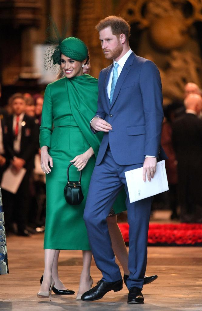 Prince Harry and Meghan Markle attend an official royal event on March 9 in London. (Photo: Karwai Tang/WireImage)