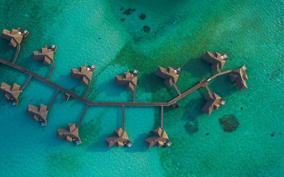 The Maldives is our pick for October - Getty
