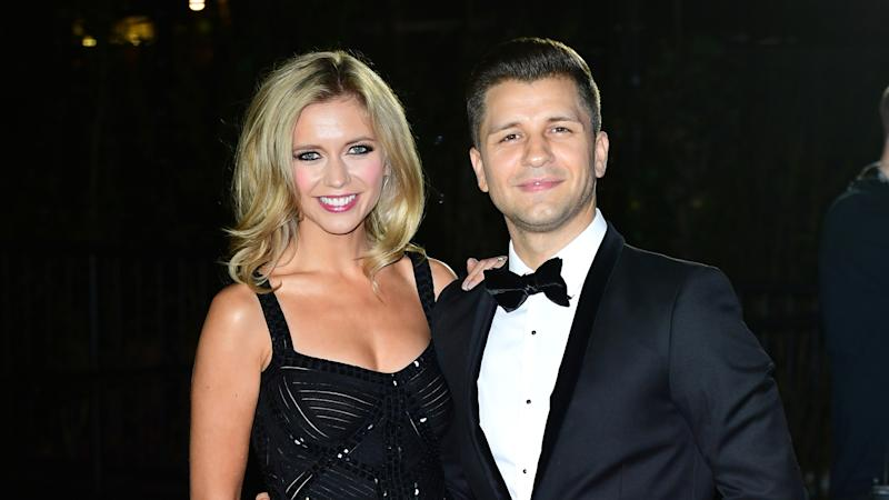 Rachel Riley shares 'joys of pregnant married life' on beach holiday with Pasha