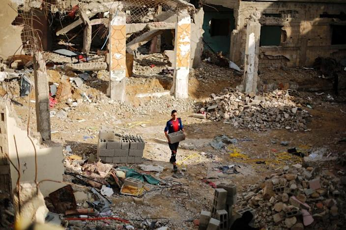 Nearl 3,000 people were killed in the 2014 Gaza conflict which ended with a truce between Israel and Hamas (AFP Photo/Mohammed Abed)