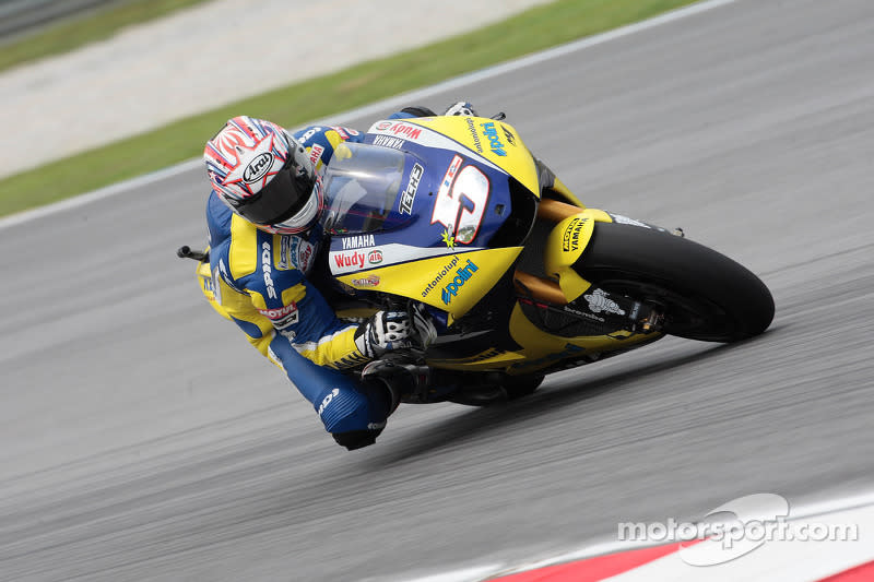 "2008. Colin Edwards (MotoGP)<span class=""copyright"">Yamaha Motor Racing</span>"