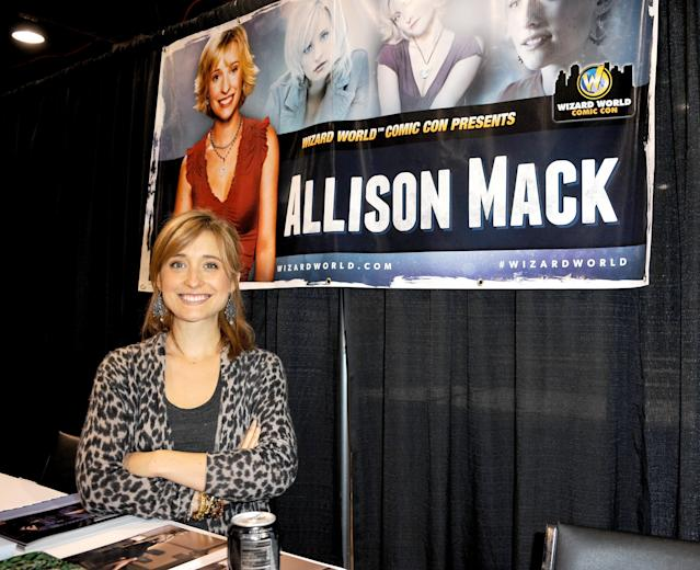 Allison Mack attends Wizard World Chicago Comic Con 2013. (Photo: Getty Images)