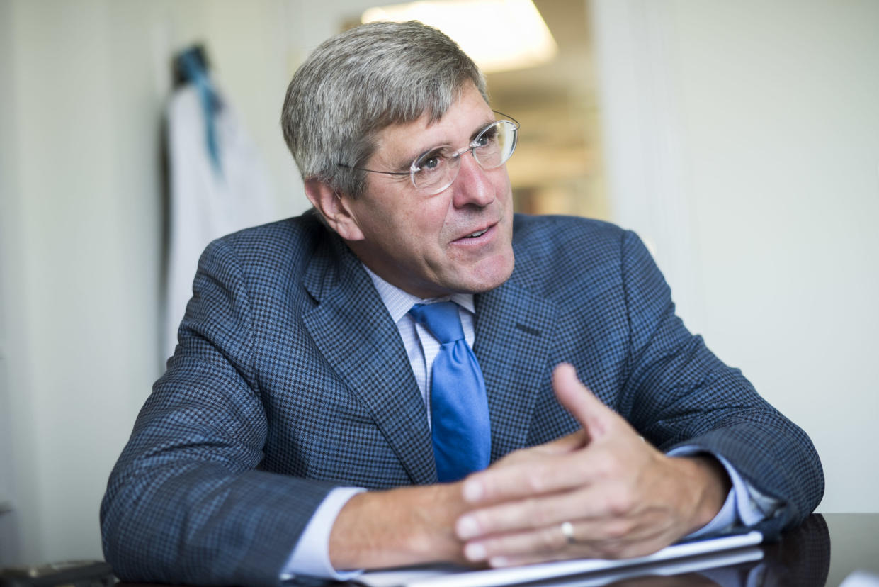 Stephen Moore has been looking at crypto currencies recently.
