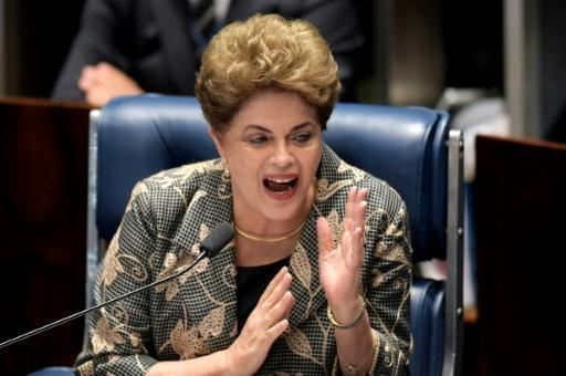 Brazil's Rousseff urges vote against 'coup' in Senate trial