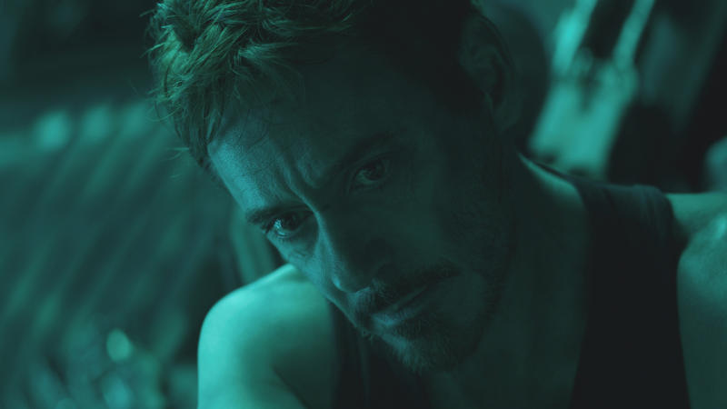 Robert Downey Jr. as Tony Stark in 'Avengers: Endgame'. (Credit: Marvel/Disney)