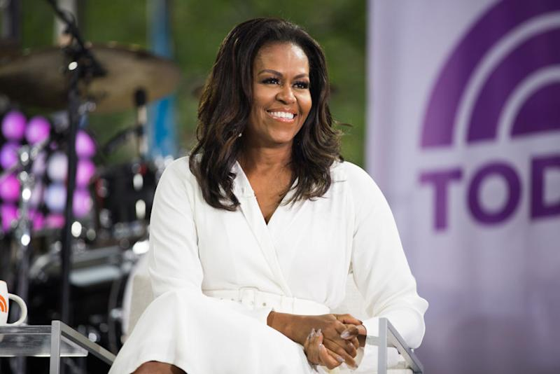 Michelle Obama came second in the cool list. (Getty Images)