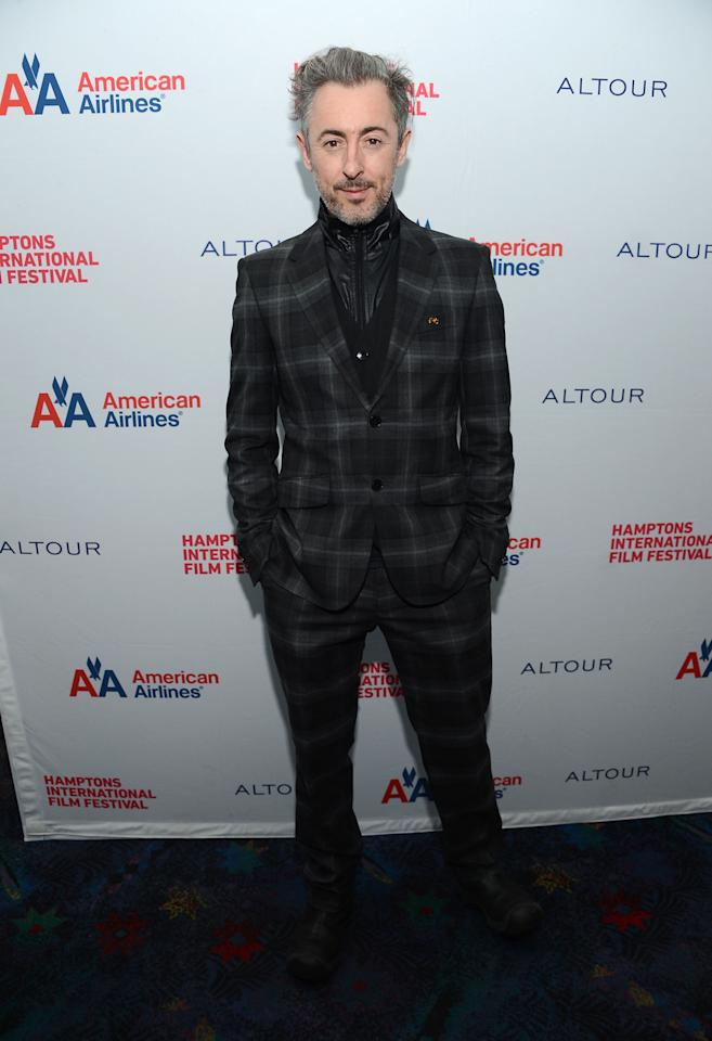 "EAST HAMPTON, NY - OCTOBER 07:  Actor Alan Cumming attends the ""Any Day Now"" screening during the 20th Hamptons International Film Festival at United Artists Regal Cinema on October 7, 2012 in East Hampton, New York.  (Photo by Jason Kempin/Getty Images)"