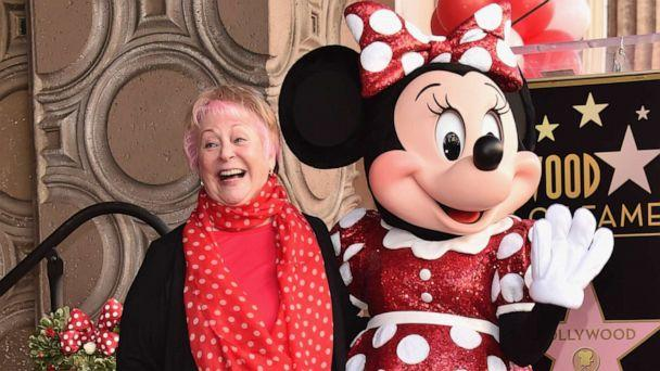 PHOTO: Russi Taylor, seen here Jan. 22, 2018, was best known for voicing the Disney character Minnie Mouse. She passed away on Saturday, July 26, 2019 in Glendale, Calif. She was 75 years old. (Alberto E. Rodriguez/Getty Images, File)