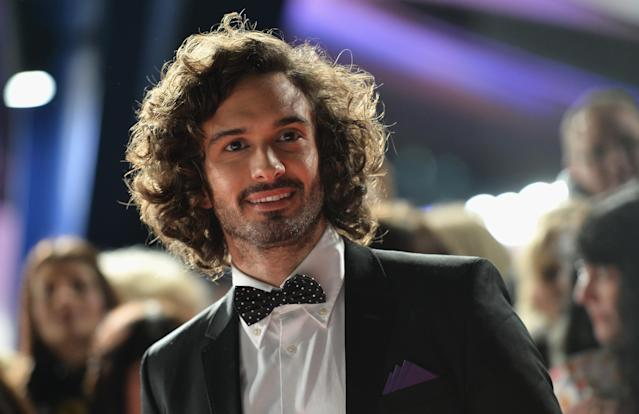 Joe Wicks attends the National Television Awards in 2017 (Jeff Spicer/Getty Images)