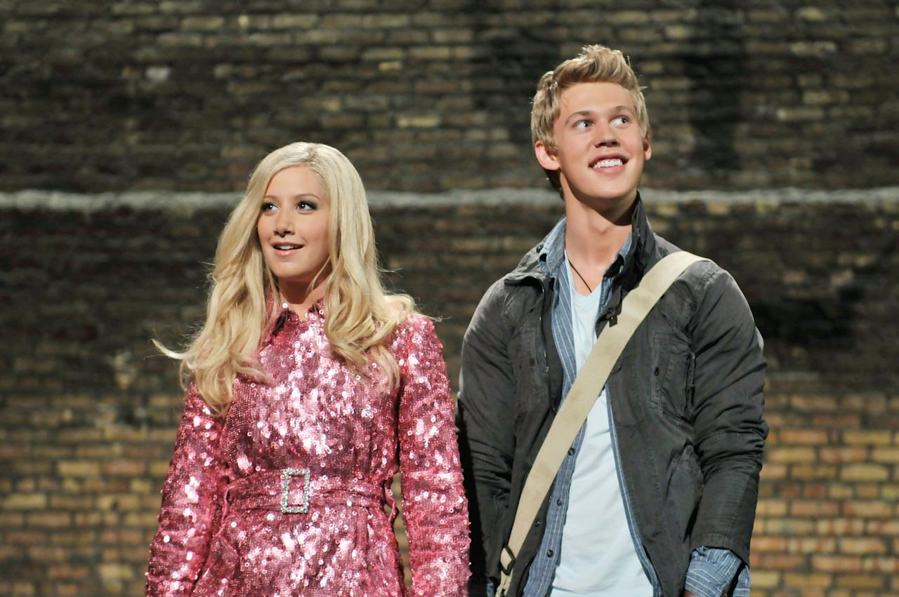 <p>Butler teamed up with Tisdale again for the <strong>High School Musical</strong> spinoff <strong>Sharpay's Fabulous Adventure </strong>where he costarred as Peyton Leverett, an aspirational filmmaker who helps recent high school grad Sharpay transition to New York City.</p>