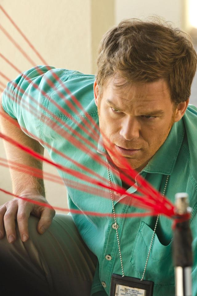 "Michael C. Hall as Dexter Morgan in the ""Dexter"" Season 8 episode, ""A Little Reflection."""
