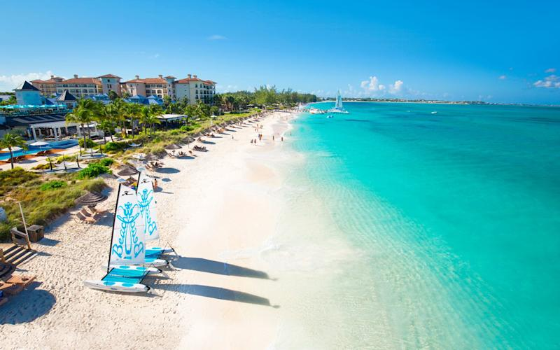 Claire and family opted for a relaxed holiday at Beaches in Turks and Caicos