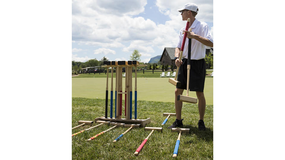 Croquet is taken very seriously at High Hampton. - Credit: Ball & Albanese