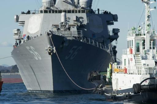 <p>'Sudden turn' by US warship led to collision off Singapore: report</p>