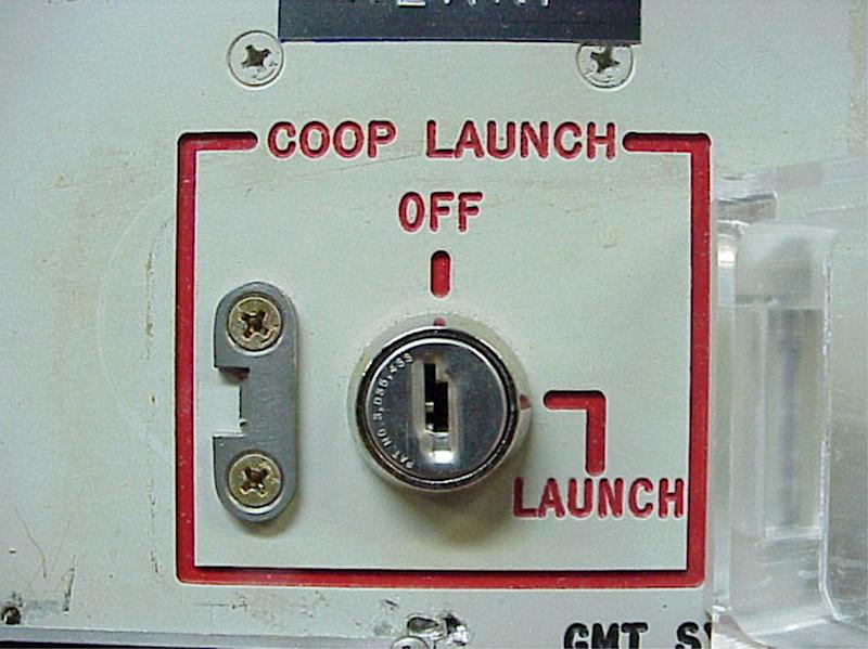 "FILE - This 2002 file photo provided by the National Park Service shows the launch key mechanism at the deactivated Delta Nine Launch Facility near Wall, S.D. Failings exposed last spring at an Air Force nuclear missile base, described by one officer as ""rot"" in the ranks, were even worse than originally reported, according to documents obtained by The Associated Press. All the staff involved with missile operation at Minot Air Force Base, N.D., passed an inspection with a ""marginal"" rating, the equivalent of a D in school _ and that was only because of good marks received by people like cooks or facilities managers. The men and women entrusted with launch keys to 150 Minuteman 3 intercontinental ballistic missiles would have flunked. (AP Photo/Minuteman Missile NHS)"