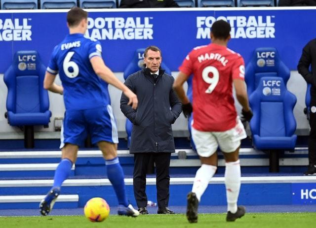 Brendan Rodgers was impressed with Leicester