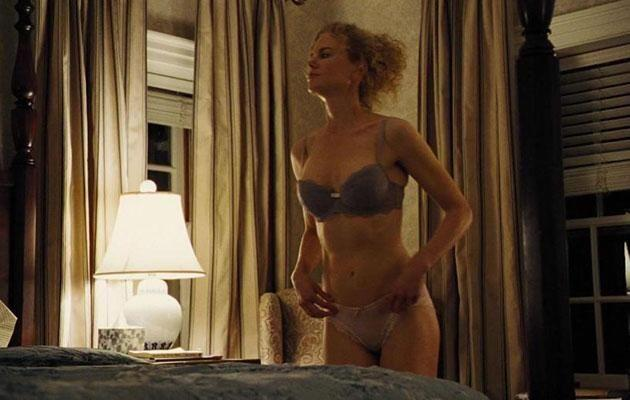 The actress shows off her bod in the scene. Source: New Sparta Films