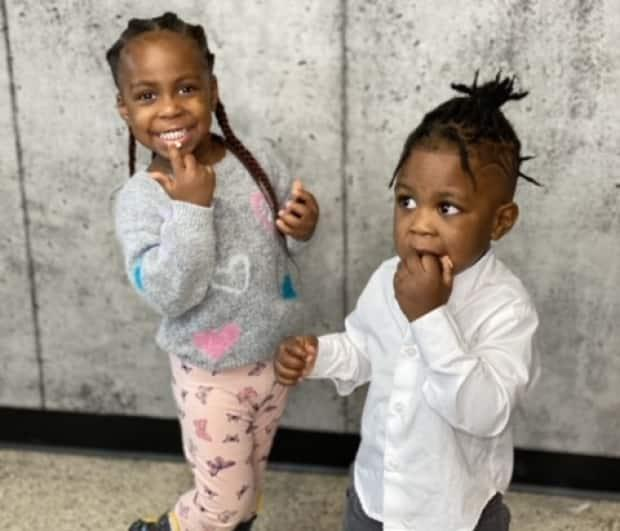 'Managing two toddlers is definitely not easy, but it's even harder when you're also managing a new business,' Ediri said of parenting Gabriella, 3, and Lucky, 2, while getting a new salon up and running.