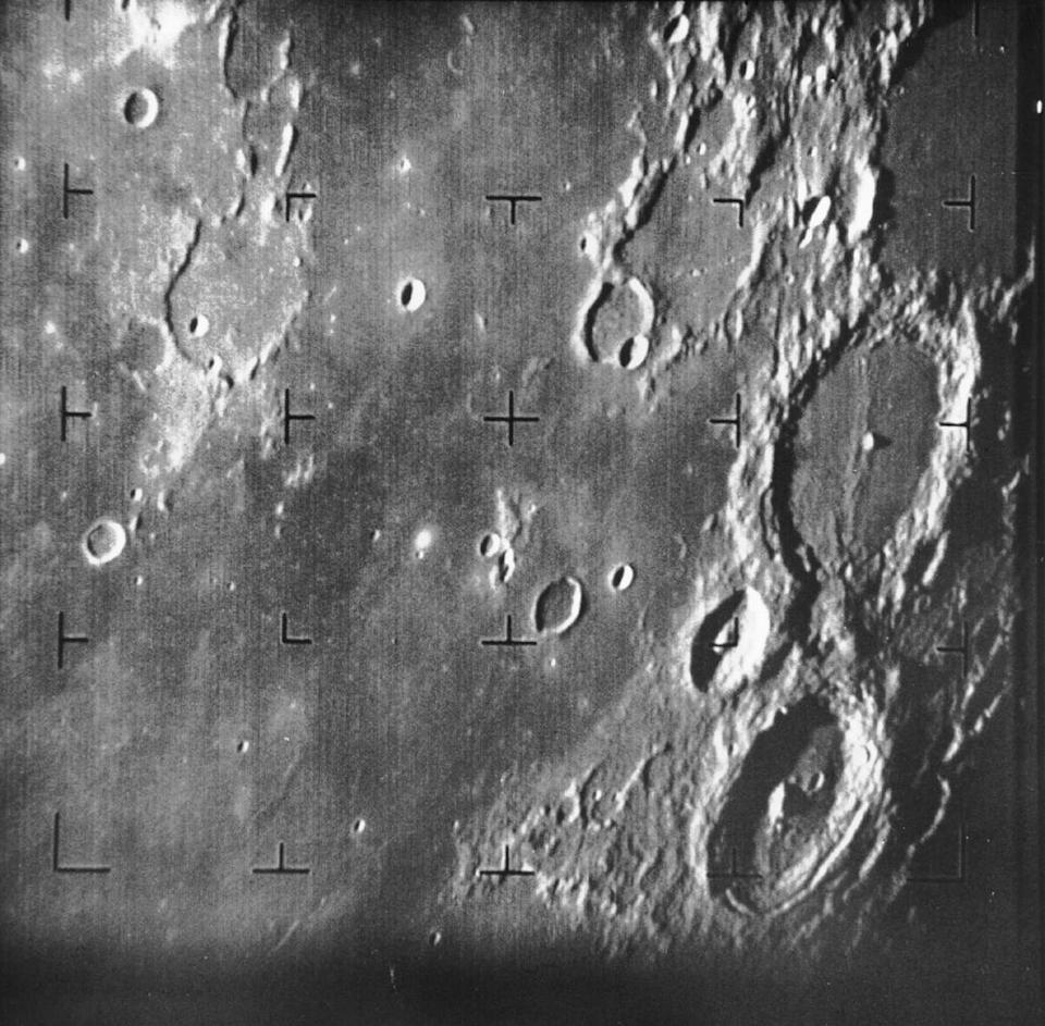 First image of the Moon returned by a Ranger mission